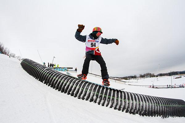 Snowboarding Tube